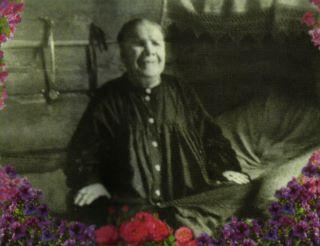 Прижизненная фотография блаженной старицы Матроны
