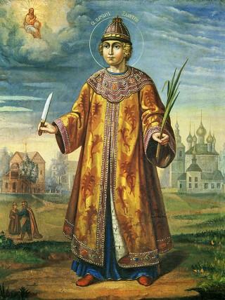 Димитрий Угличский, благоверный царевич. Галерея икон Щигры.