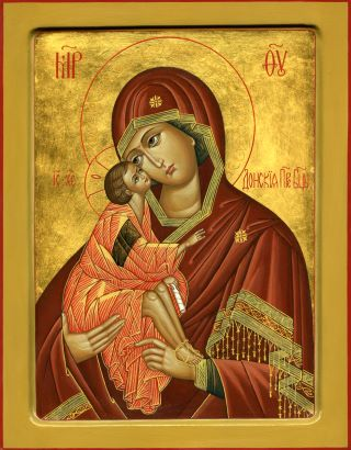 Донская икона Божией Матери. Галерея икон Щигры.
