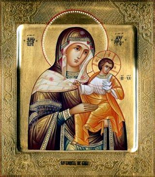 Голубицкая (Коневская) икона Божией Матери. Галерея икон Щигры.
