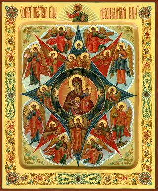«Неопалимая Купина» икона Божией Матери. Галерея икон Щигры.