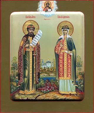 Петр и Феврония Муромские. Галерея икон Щигры.