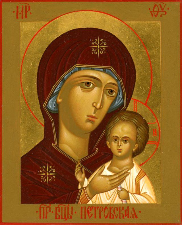 ... икона Божией Матери. Галерея икон: www.vidania.ru/icony/icon_petrovskaya.html