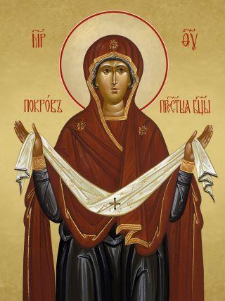 Покров Пресвятой Богородицы. Галерея икон Щигры.