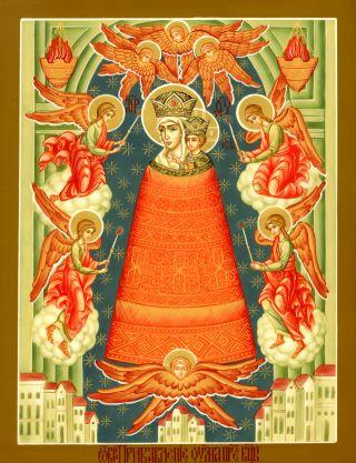 Прибавление ума икона Божией Матери. Галерея икон Щигры.