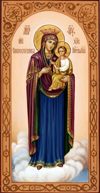 «Скоропослушница» икона Божией Матери. Галерея икон Щигры.