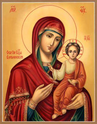 Смоленская икона Божией Матери. Галерея икон Щигры.