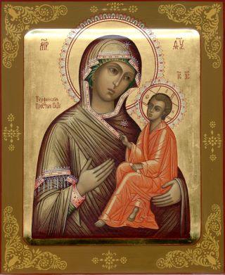 Тихвинская икона Божией Матери. Галерея икон Щигры.