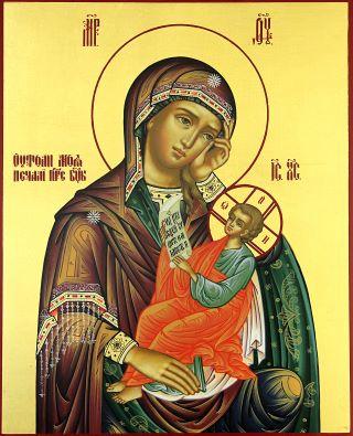 «Утоли моя печали» икона Божией Матери. Галерея икон Щигры.