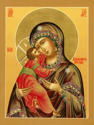 Владимирская икона Божией Матери. Галерея икон Щигры.