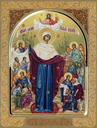 «Всех Скорбящих Радость» икона Божией Матери. Галерея икон Щигры.