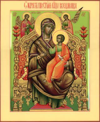 Всецарица икона Божией Матери. Галерея икон Щигры.