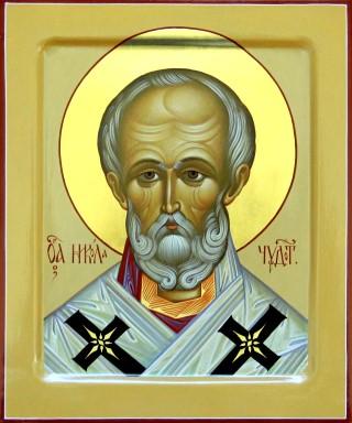 Икона свт. Николай Чудотворец. Галерея икон Щигры