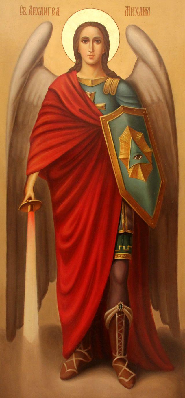 Михаил Архангел . Роспись Покровского ...: www.vidania.ru/slovar/mihail_arhangel.html