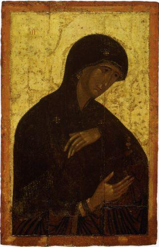 Пресвятая Богородица. Икона Высоцкого чина